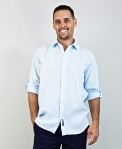 Palm Key Linen Shirt